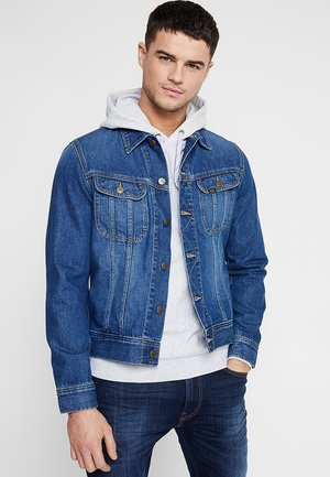 SLIM RIDER - Denim jacket - flick dark