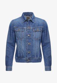 Lee - SLIM RIDER - Giacca di jeans - flick dark - 5