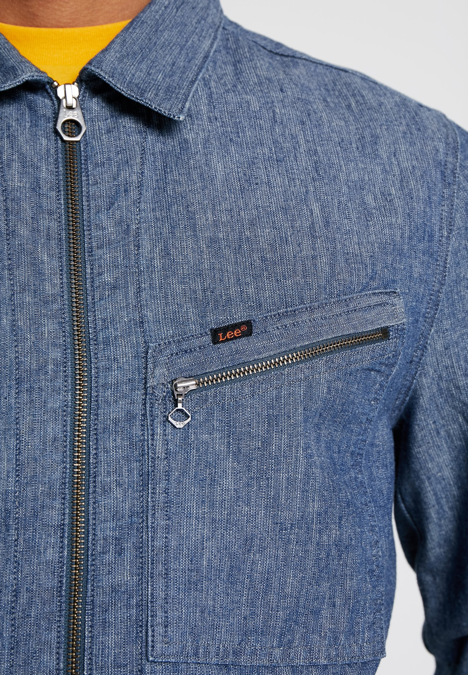 191j Jean En Lee JacketVeste Chambray CxthrdQs