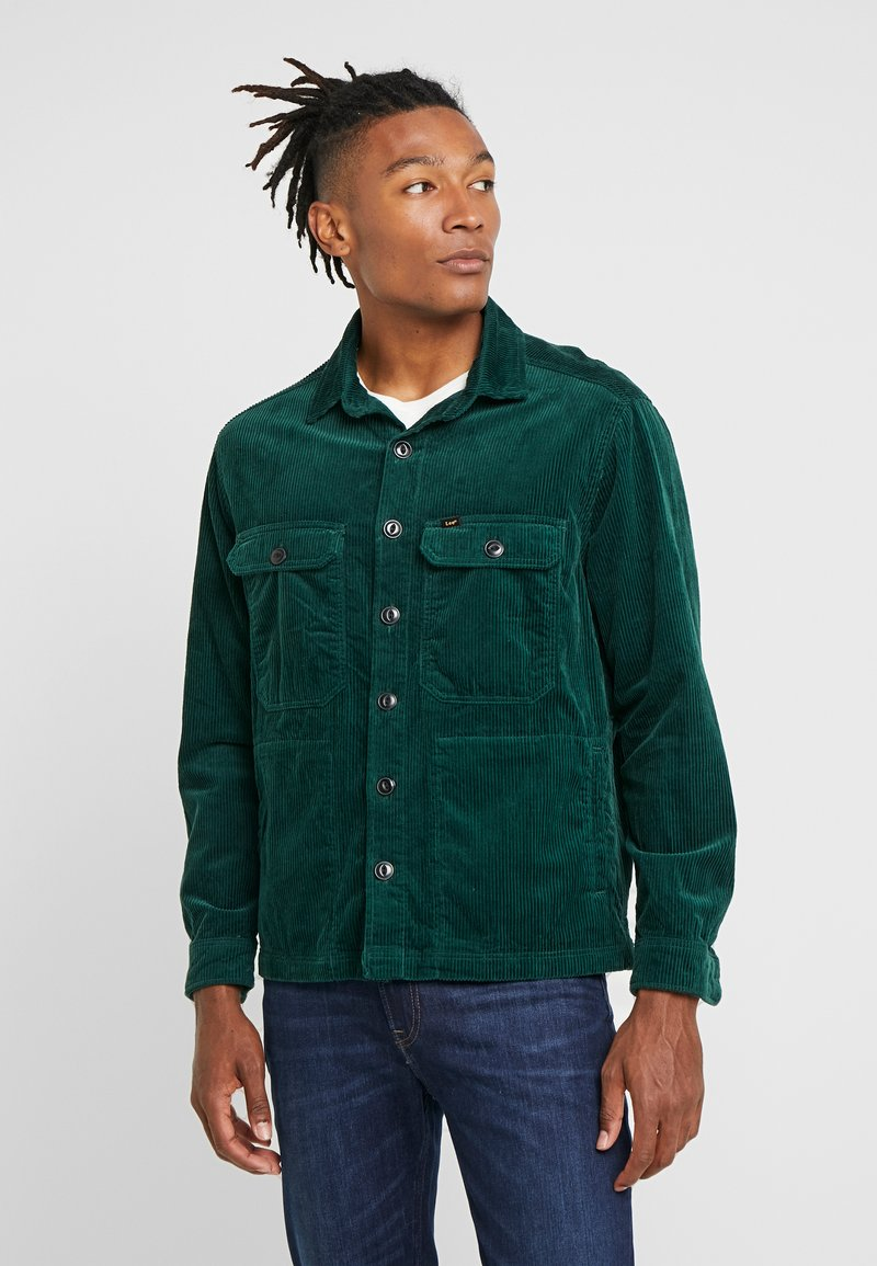 Lee - JUMBO OVERSHIRT - Summer jacket - pine grove