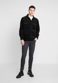 Lee - JUMBO OVERSHIRT - Tunn jacka - black - 1