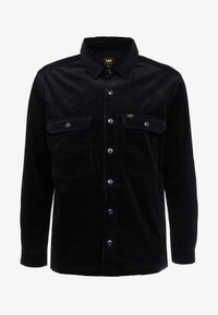 Lee - JUMBO OVERSHIRT - Tunn jacka - black - 3