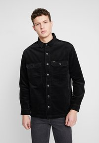 Lee - JUMBO OVERSHIRT - Tunn jacka - black - 0