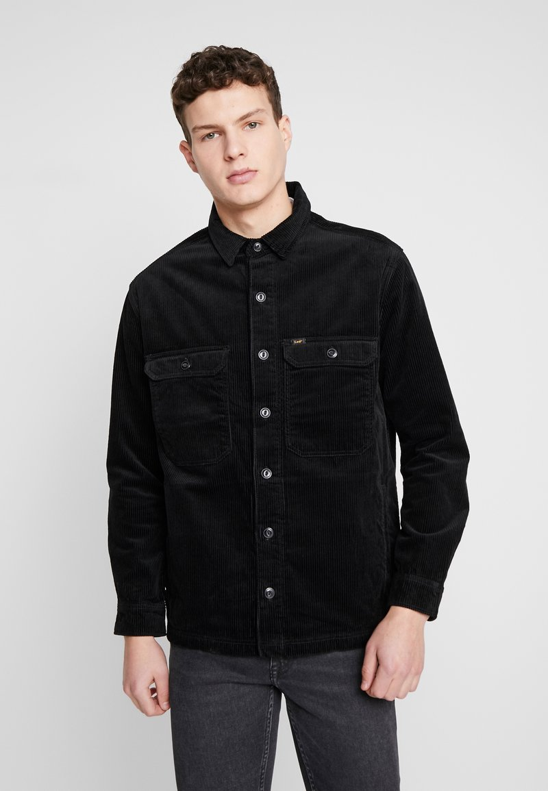 Lee - JUMBO OVERSHIRT - Tunn jacka - black