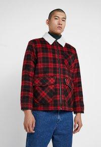 Lee - LOCO SHERPA - Light jacket - warp red - 0