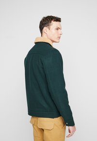 Lee - Light jacket - bottle green/ecru sherpa - 2