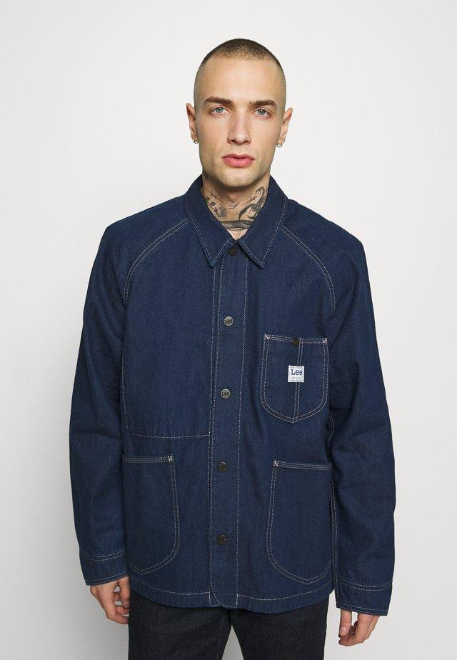 LOCO REWORK - Džínová bunda - dry