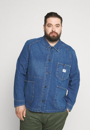 LOCO REWORK - Denim jacket - vernon light