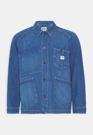 LOCO REWORK - Denim jacket - vernon light