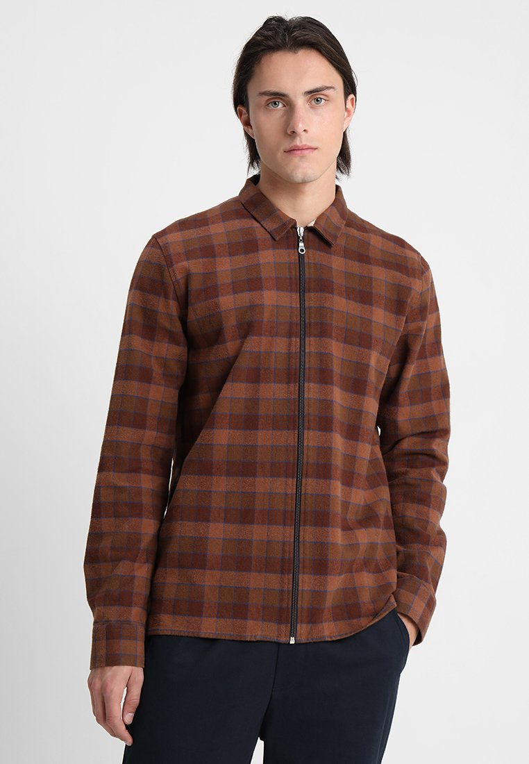 Legends - CARDIFF - Camisa - brown check
