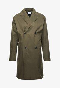 Legends - FRANKIE DOUBLE BREASTED COAT - Zimní kabát - olive - 3