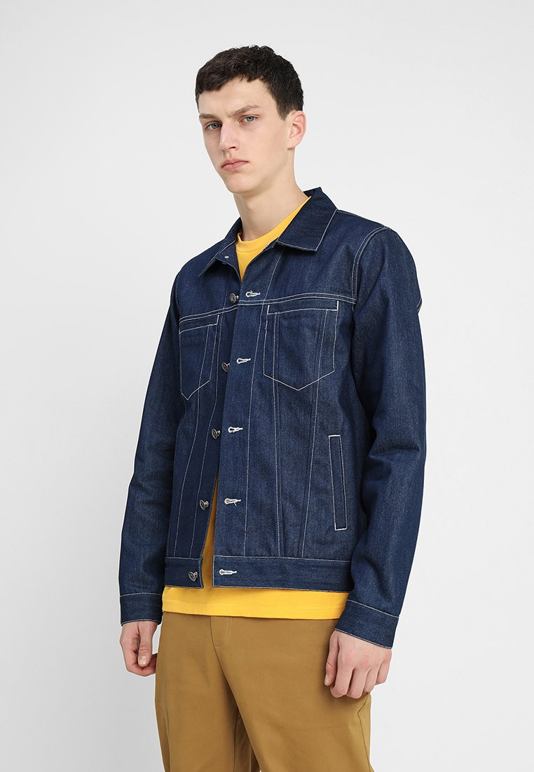 Legends - PONTA JACKET - Džínová bunda - indigo