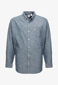 Levi's® Plus - BIG CLASSIC - Shirt - indigo chambray - 4