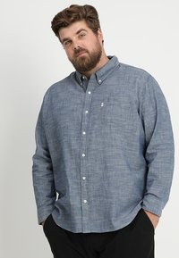 Levi's® Plus - BIG CLASSIC - Shirt - indigo chambray - 0