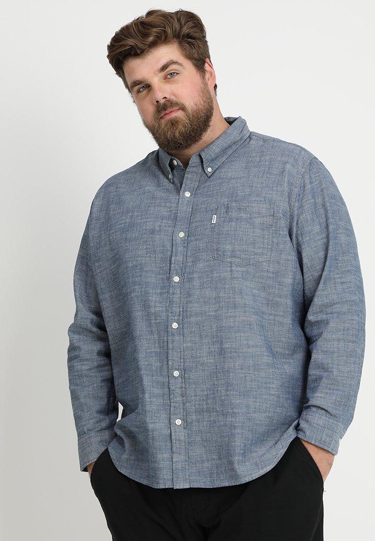 Levi's® Plus - BIG CLASSIC - Shirt - indigo chambray