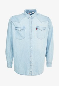 Levi's® Plus - BIG CLASSIC WESTERN - Shirt - red cast stone wash takedown - 4
