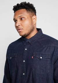 Levi's® Plus - BIG CLASSIC WESTERN - Košile - dark blue denim - 3