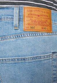 Levi's® Plus - 501® HEMMED  - Džínové kraťasy - light- blue denim - 3