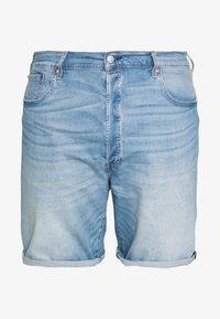 Levi's® Plus - 501® HEMMED  - Džínové kraťasy - light- blue denim - 4