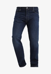 Levi's® Plus - BIG&TALL 501® BUTTON FLY - Jeans baggy - dark blue denim - 3