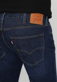 Levi's® Plus - BIG&TALL 501® BUTTON FLY - Jeans baggy - dark blue denim - 4