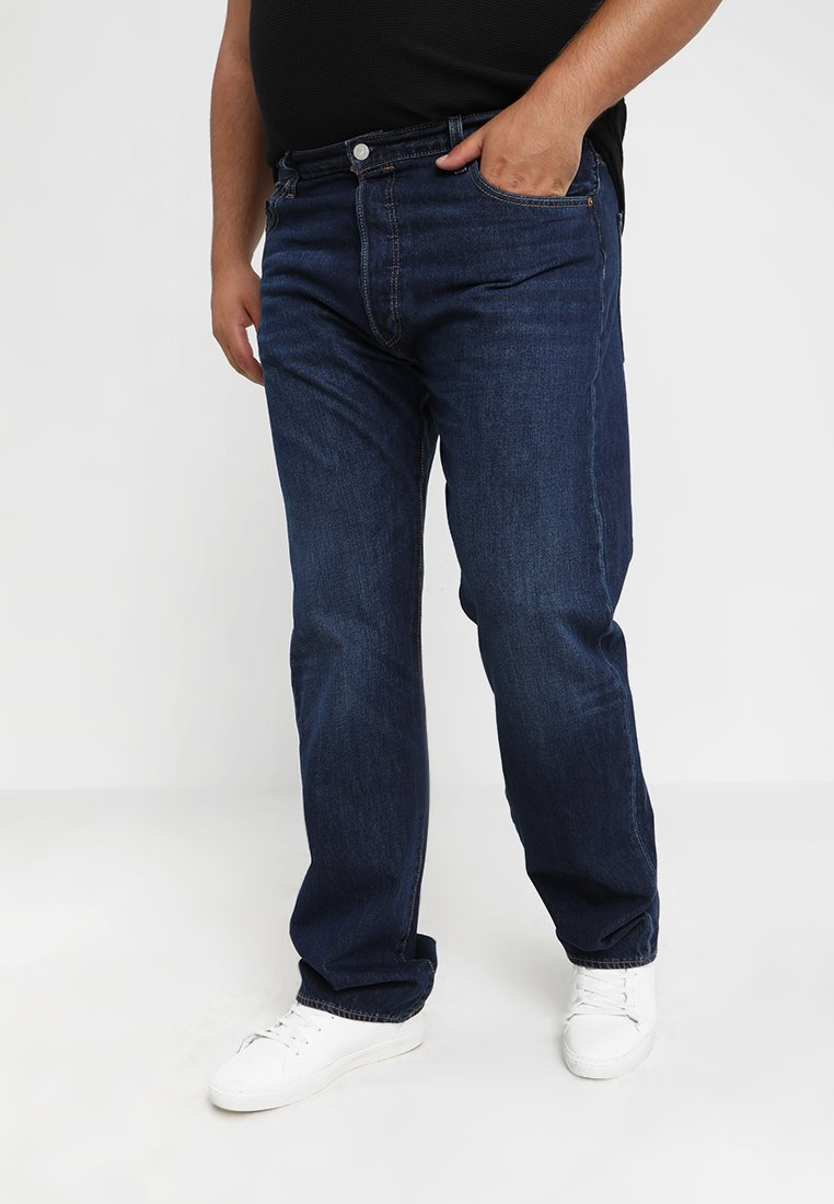 Levi's® Big & Tall - BIG&TALL 501® BUTTON FLY - Jean boyfriend - dark blue denim