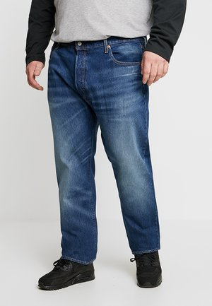 BIG&TALL 501® BUTTON FLY - Relaxed fit jeans - dairy whipped