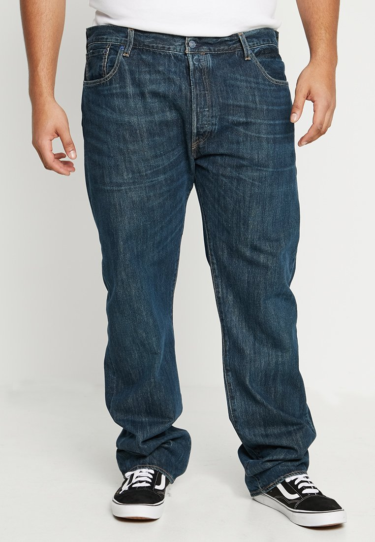 Levi's® Plus - BIG&TALL 501® BUTTON FLY - Jeansy Relaxed Fit - snoot