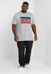 Levi's® Plus - BIG&TALL 501®  - Jeans a sigaretta - airdry black - 1