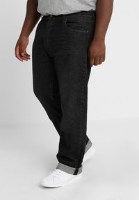 Levi's® Plus - BIG&TALL 501®  - Jeans a sigaretta - airdry black - 0