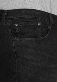 Levi's® Plus - BIG&TALL 501®  - Jeans a sigaretta - airdry black - 3