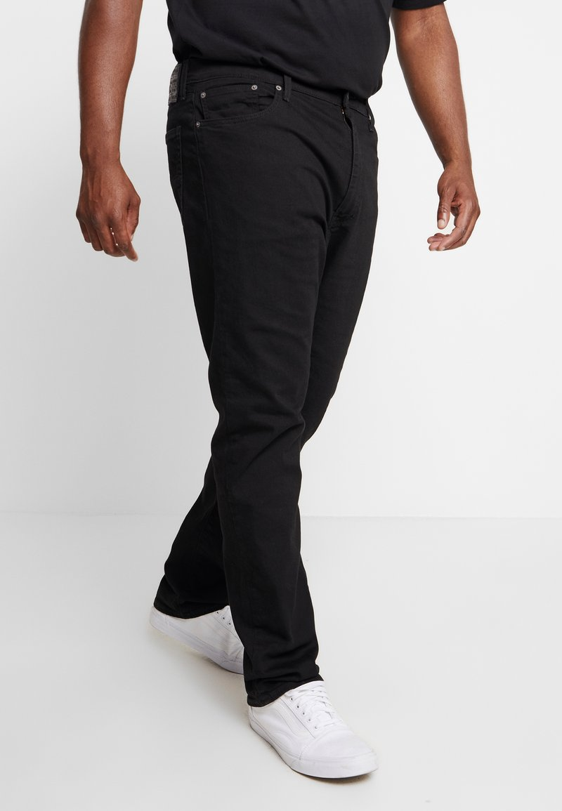 Levi's® Plus - 502™ REGULAR TAPER - Džíny Straight Fit - nightshine
