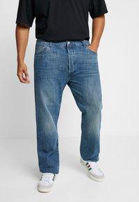 Levi's® Plus - 501® LEVI'S®ORIGINAL FIT - Džíny Straight Fit - light-blue denim - 0