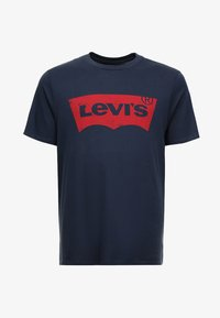 Levi's® Plus - BIG GRAPHIC TEE - T-shirt z nadrukiem - dress blues - 4