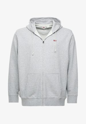 BIG CLASSIC ZIP UP - Zip-up hoodie - medium grey heather