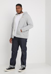 Levi's® Plus - BIG CLASSIC ZIP UP - Felpa aperta - medium grey heather - 1