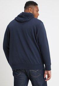 Levi's® Plus - BIG CLASSIC ZIP UP - Zip-up hoodie - dress blues - 2