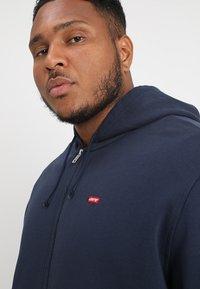 Levi's® Plus - BIG CLASSIC ZIP UP - Zip-up hoodie - dress blues - 3