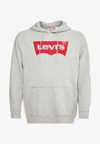 Levi's® Plus - BIG GRAPHIC HOODIE - Hoodie - midtone heather grey - 4