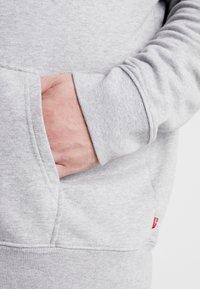 Levi's® Plus - BIG GRAPHIC HOODIE - Hoodie - midtone heather grey - 3