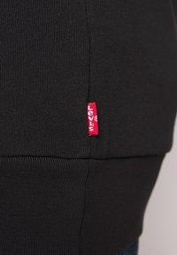 Levi's® Plus - BIG CREW SEASONAL - Sweatshirt - black - 5