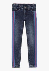 Lemon Beret - SMALL GIRLS PANT - Jeans slim fit - denim blue - 0