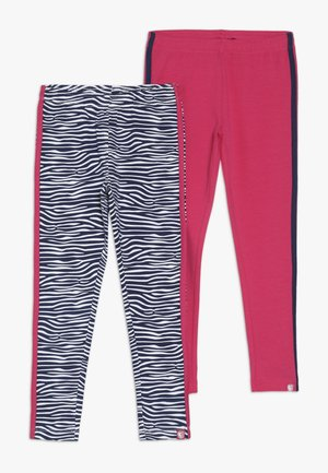SMALL GIRLS 2 PACK - Legging - medieval blue