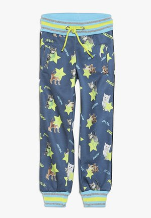 SMALL GIRLS JOGGING PANT - Verryttelyhousut - medieval blue