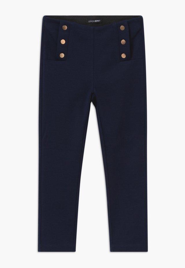 SMALL GIRLS - Pantalon classique - navy