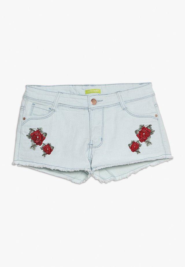 TEEN GIRLS - Jeans Shorts - blue denim