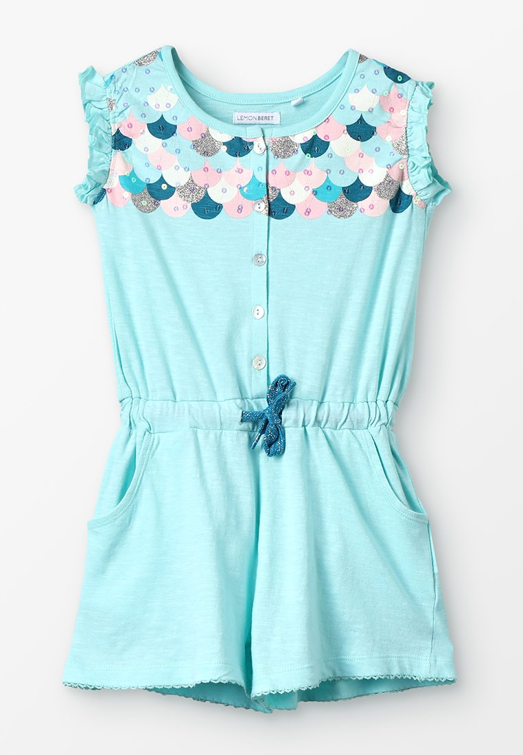 Lemon Beret - SMALL GIRLS OVERALL - Overall / Jumpsuit - blue tint