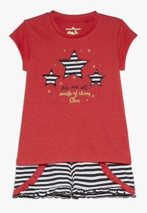 SMALL GIRLS SET - Short - poinsetta