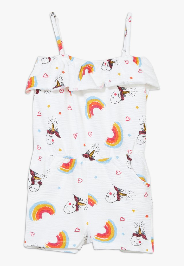 SMALL GIRLS OVERALL - Jumpsuit - optical white
