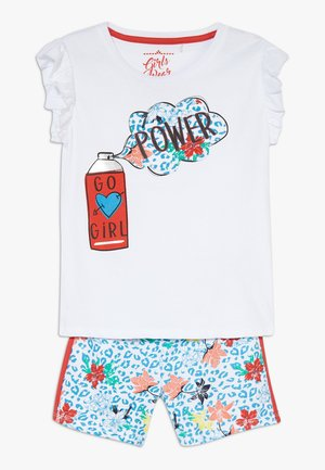 SMALL GIRLS SET  - Short - optical white